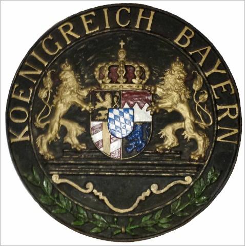 K�nigreich Bayern, Gu�wappen, von Ulrich H. Rose